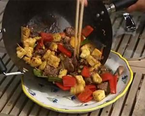 Beef with ginger and pineapple by Ken Hom
