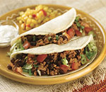 Beef and Beans Tacos