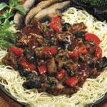 Beef and Portobello Pasta