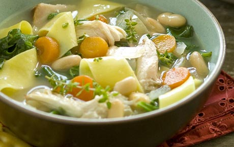 Hearty Turkey Noodle Soup