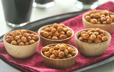 Pimenton Roasted Chickpeas