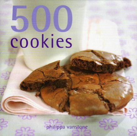 500 Cookies by Philippa Vanstone – review
