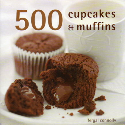 500 Cupcakes and Muffins by Fergal Connolly – review