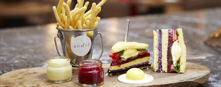 Winter Club Sandwich at Andaz Liverpool Street London – review