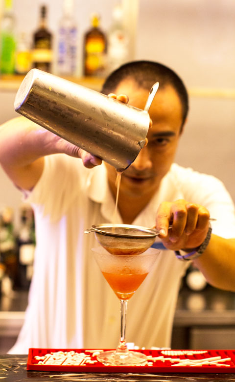 Silverkris Lounge bali cocktail