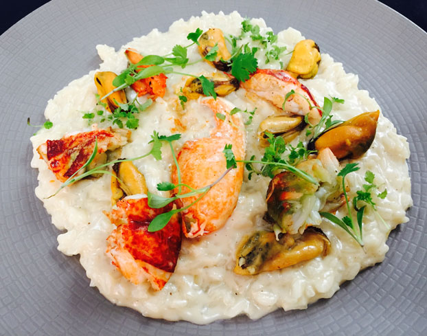 Lobster Lemongrass Lime Leaf Risotto