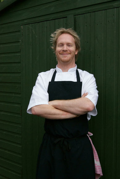 the bell at skenfrith chef Rupert Taylor
