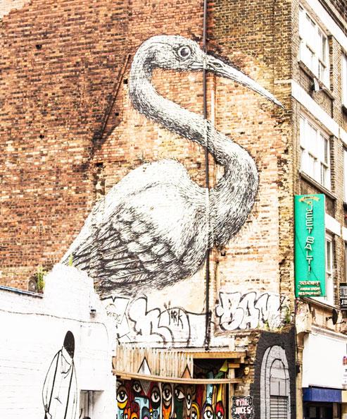Brick lane crane