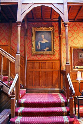 Careys Manor stairs