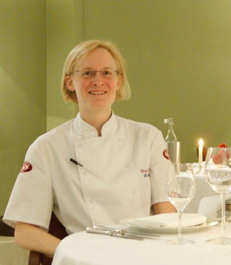 Chef Claire Nicholls