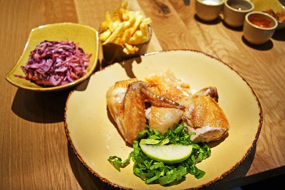 London restaurant review Clockjack Oven chicken