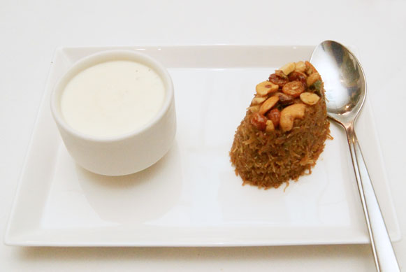 Café Spice Namasté Khaadras Club Night dessert