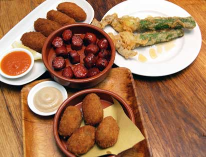 restaurant review Dehesa tapas