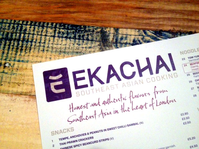 Ekachai Oriental Dining Room, Liverpool Street – review