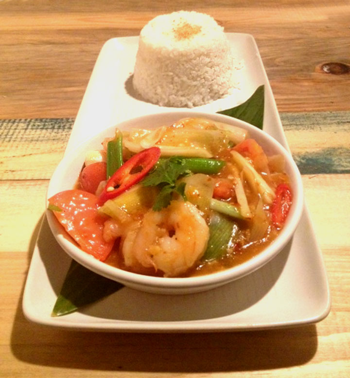 Ekachai asian restaurant review prawns