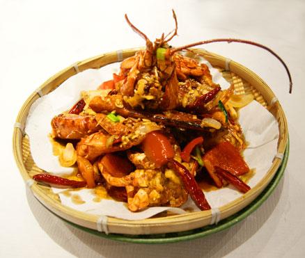 Empress of Sichuan lobster