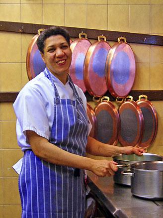 Josiane Diaga chef interviews