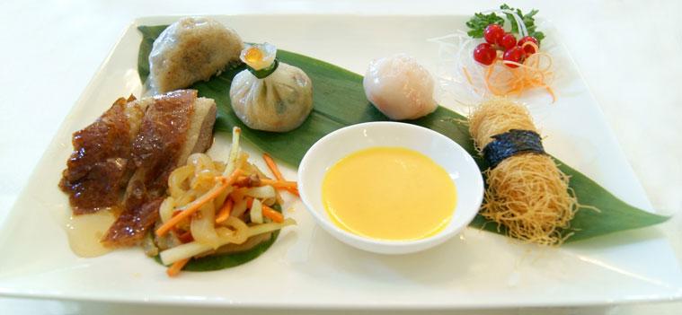asian restaurant review Grand Imperial starter