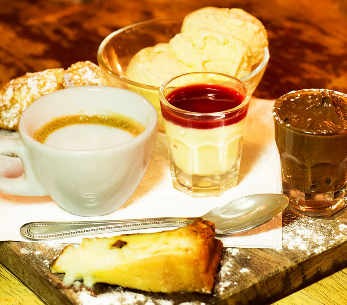 Le Garrick dessert