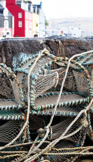 MAJESTIC lINE lobster pots