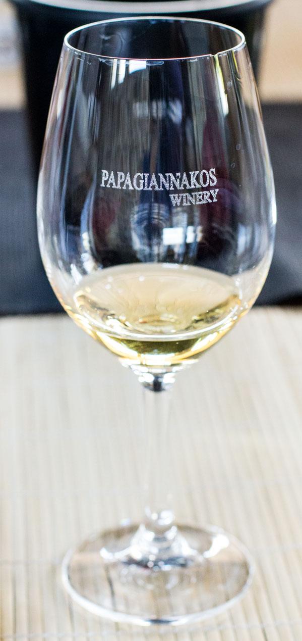 Domaine Papagiannakos glass