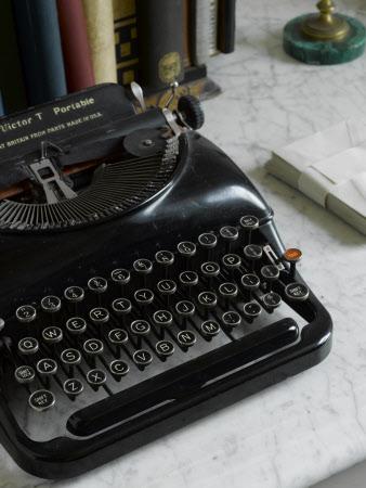 Agatha Christie typewriter