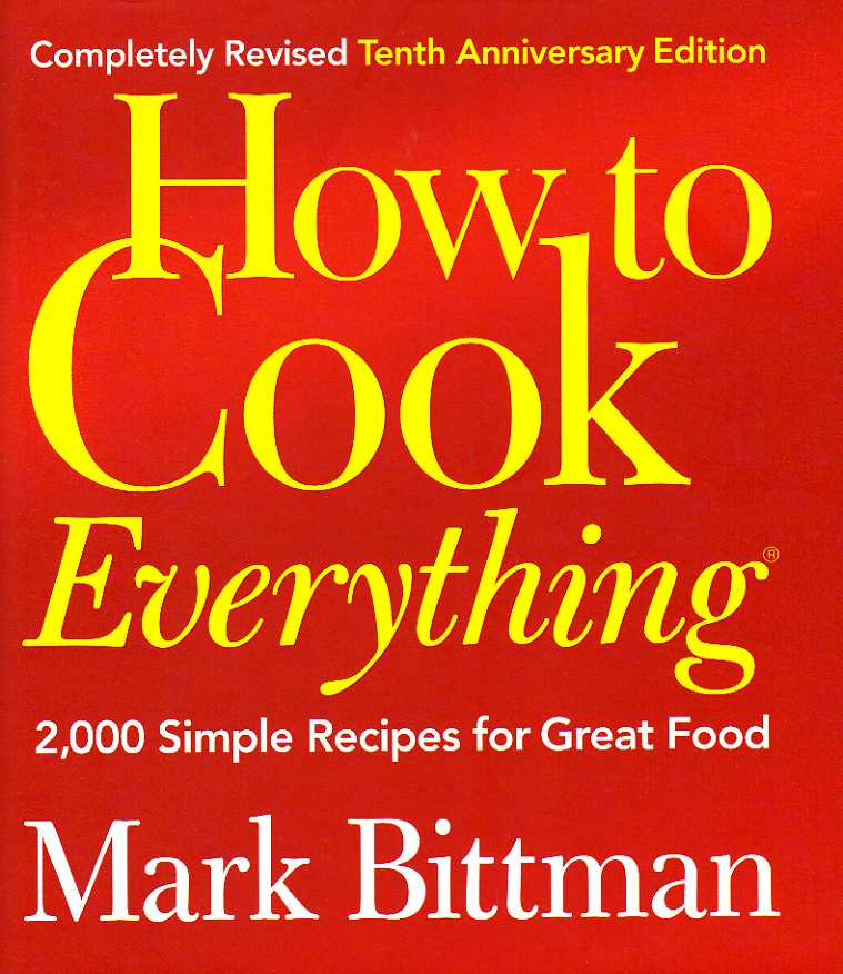 cookbook reviews How to Cook Everything
