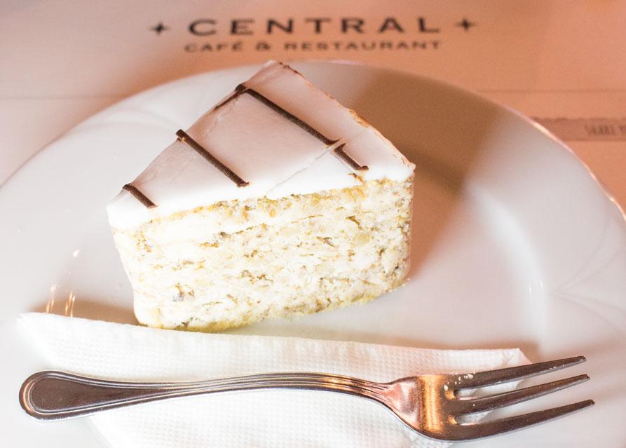 Esterházy cake central cafe