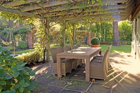 Ivy Roost Cottage garden
