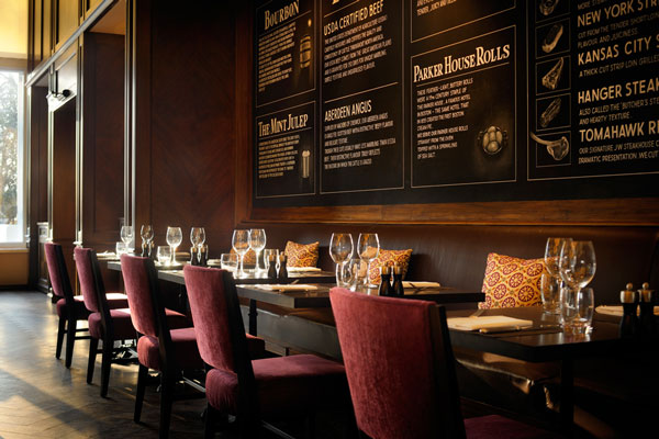 JW Steakhouse at the Grosvenor House Hotel – review