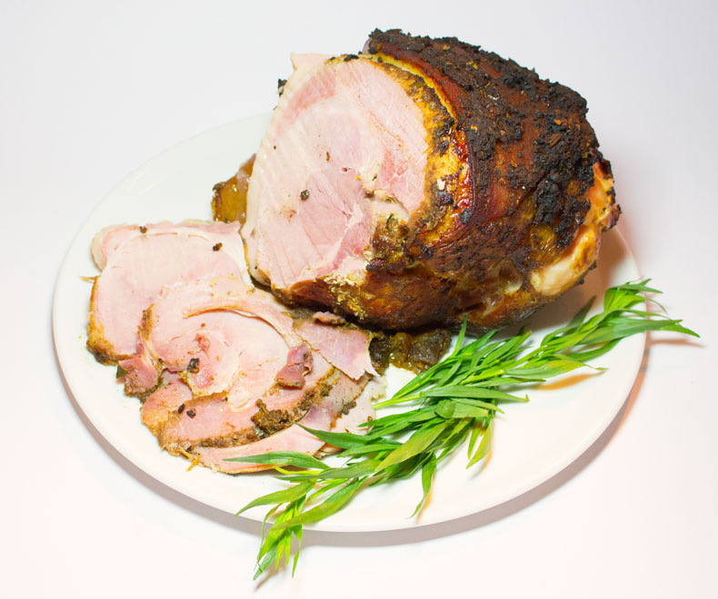 Christmas Jerk Ham – recipe