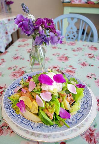 Lotte Duncan salad