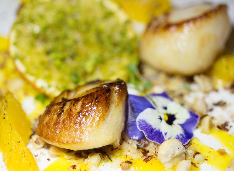 Luton Hoo seafood