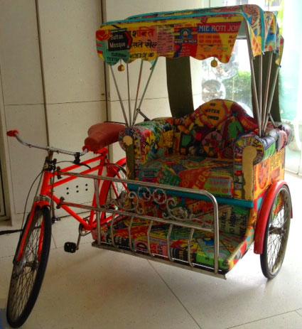 Majestic Restaurant Singapore rikshaw