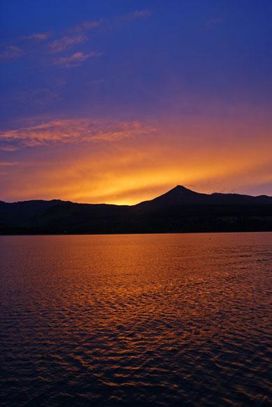 majestic line sunset