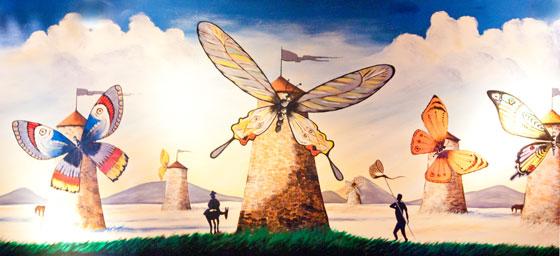 La Mancha mural
