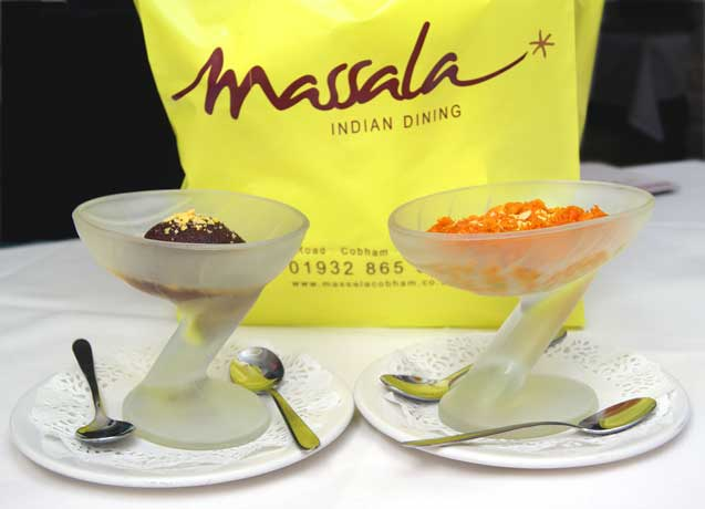 Massala Indian Dining dessert