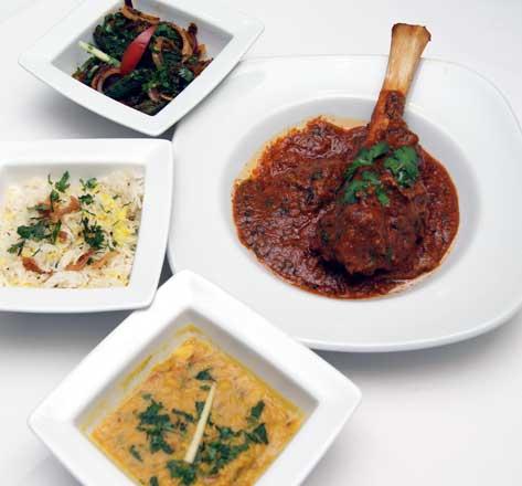 Massala Indian Dining lamb