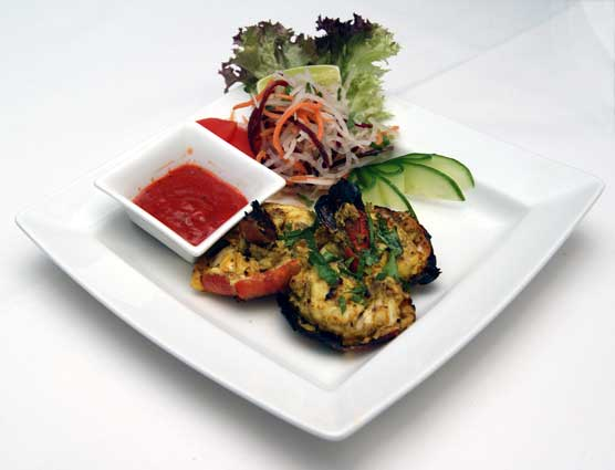 Massala Indian Dining prawn