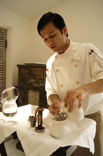 Mr. Todiwala's Kitchen tea