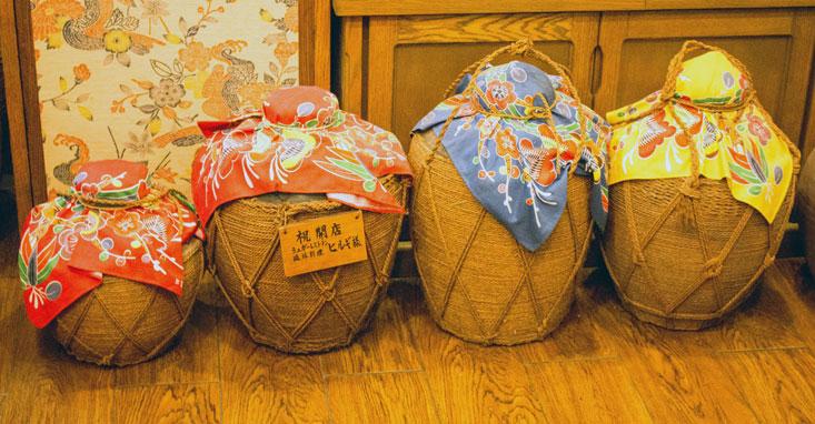 Okinawa Awamori jars