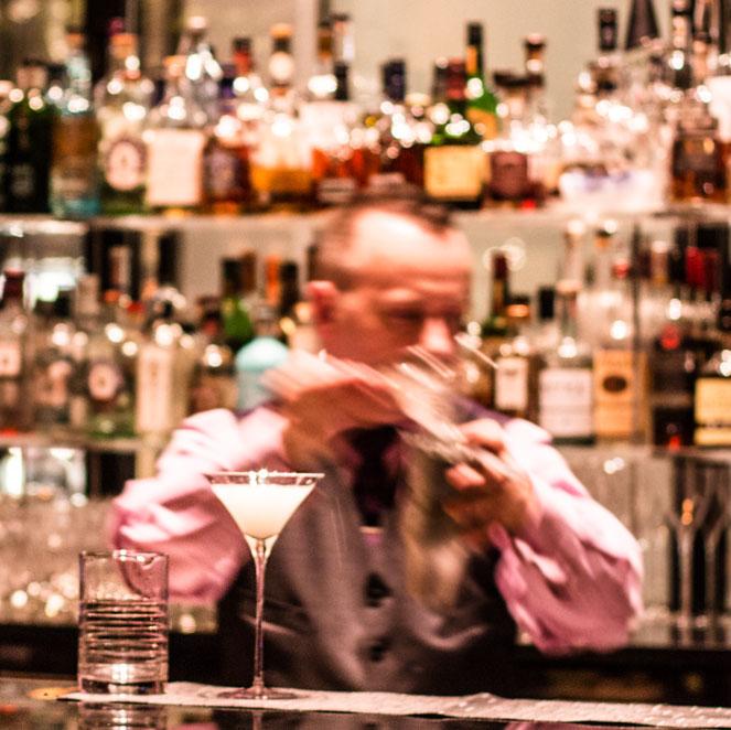 lobby bar glass