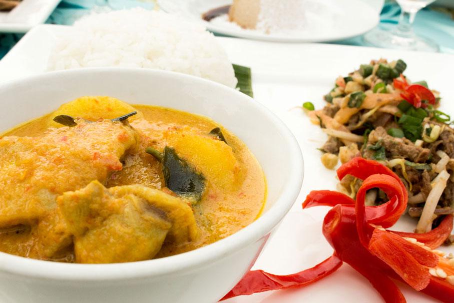 Malaysia curry