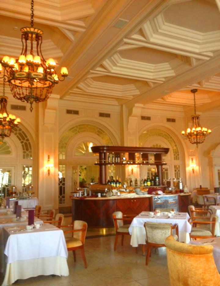 A Phoenician Kitchen Garden Hotel Phoenicia dining room