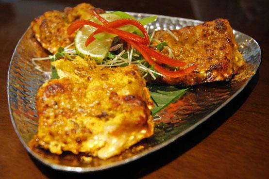 asian restaurant review Potli salmon tikka