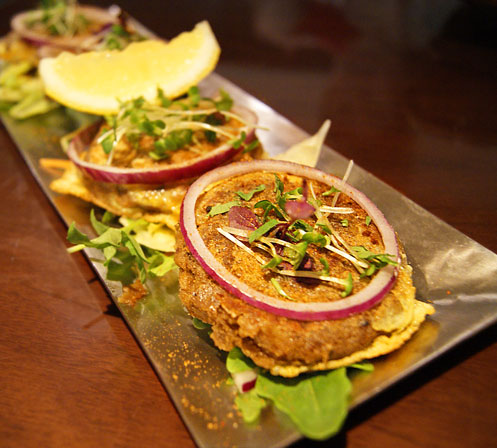 asian restaurant review Potli shammi kebab