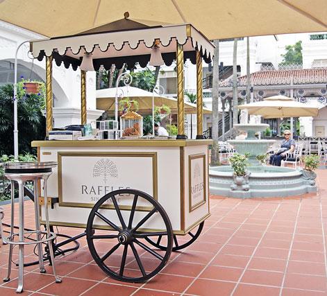 Raffles Hotel ice cream