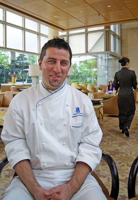 ARitz Singapore chef