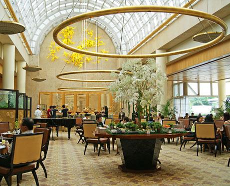 Ritz Singapore lounge