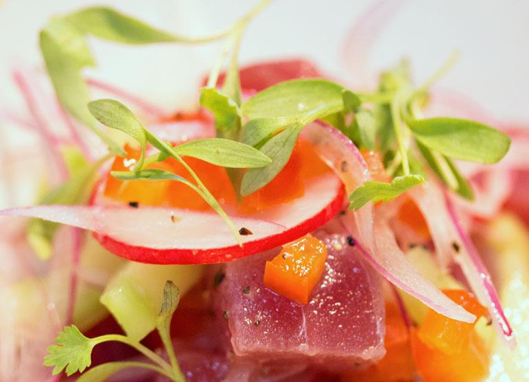 Romulo Café salad